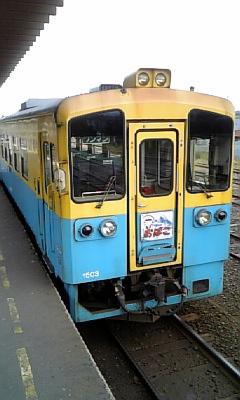 由利高原鉄道に乗車!