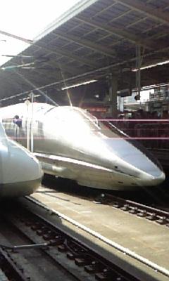 500系新幹線を撮る