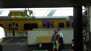 ドラえもん電車を発見!