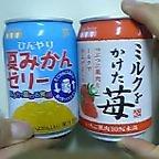 変わった飲み物(缶ジュース)