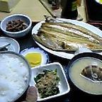 函館、ホッケ定食
